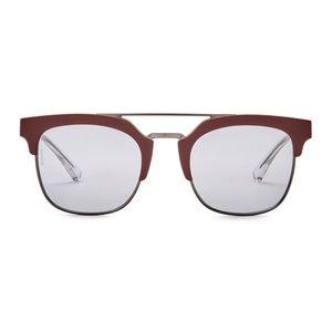 NWT Emporio Armani Clubmaster Sunglasses 52mm